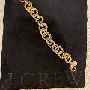 Brass link JCrew bracelet